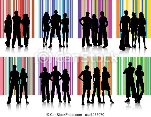 grupos, pessoas - csp1978070