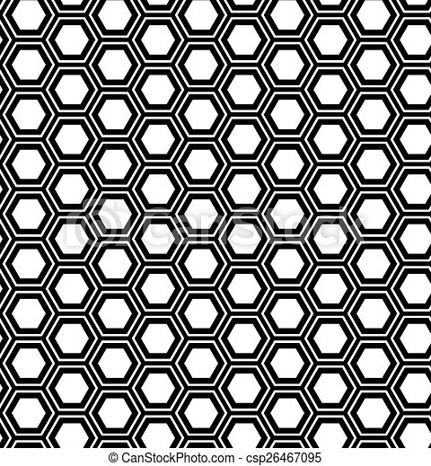 hexágono, abstratos, geomã©´ricas, seamless, experiência., pattern. - csp26467095