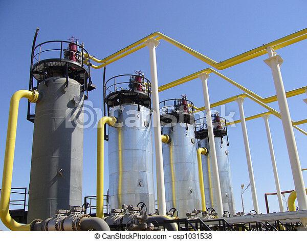 indústria, gás, natural - csp1031538