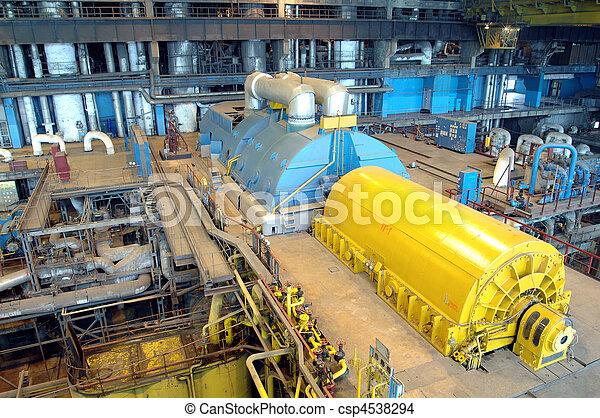 indústria, instalações, poder - csp4538294