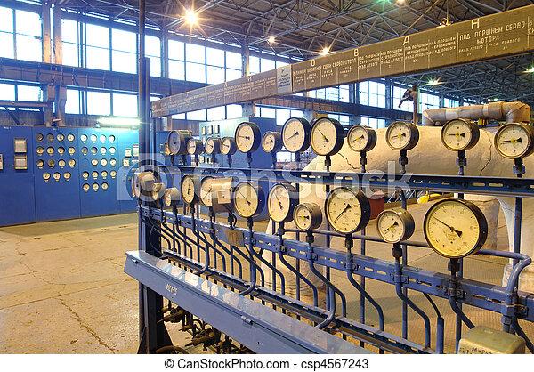 indústria, instalações, poder - csp4567243