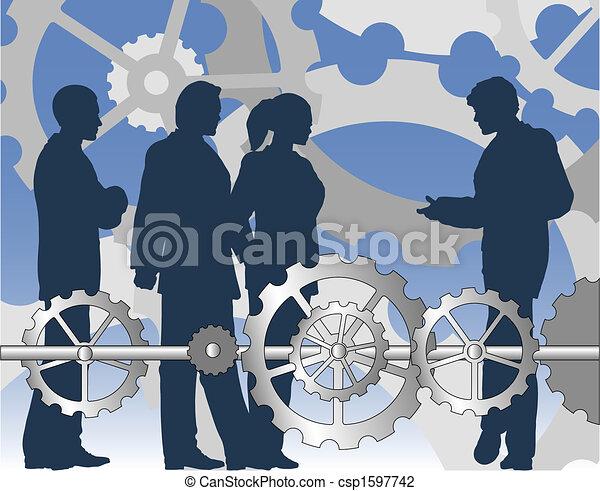 indústria, negócio - csp1597742