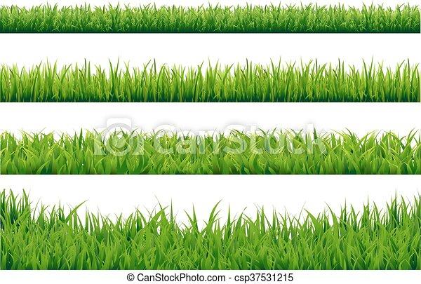 jogo, capim, fronteiras, verde - csp37531215