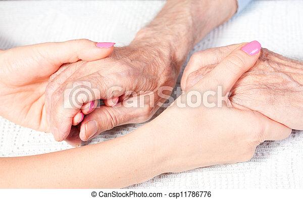 lar, cuidado idoso - csp11786776