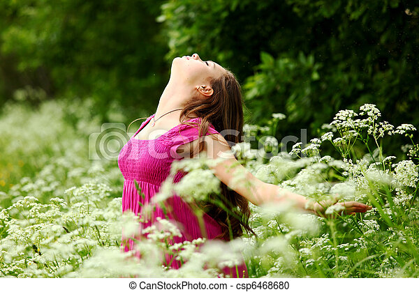 liberdade, natural - csp6468680