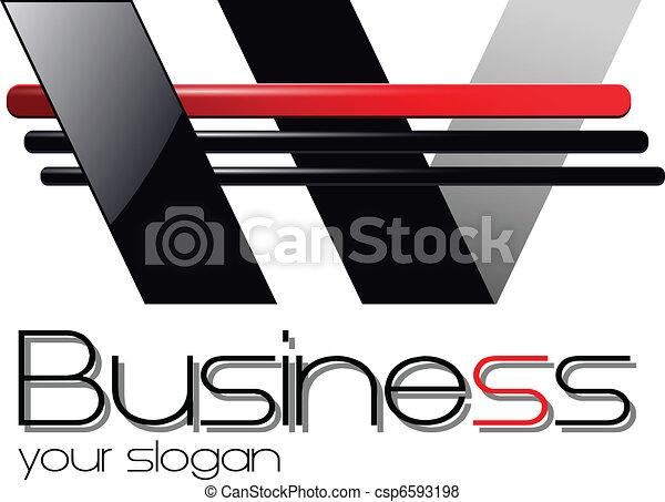 logotipo, desenho - csp6593198