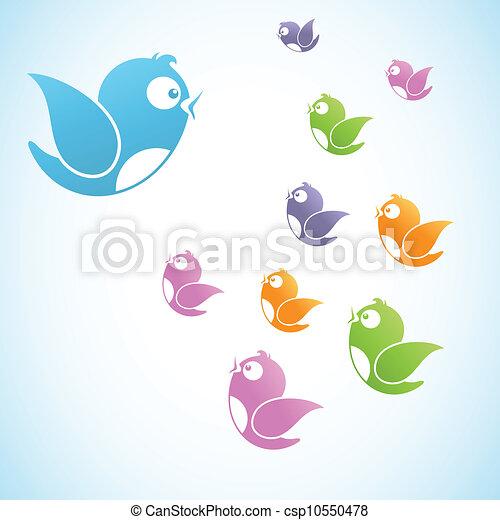 mídia, reunião, social - csp10550478