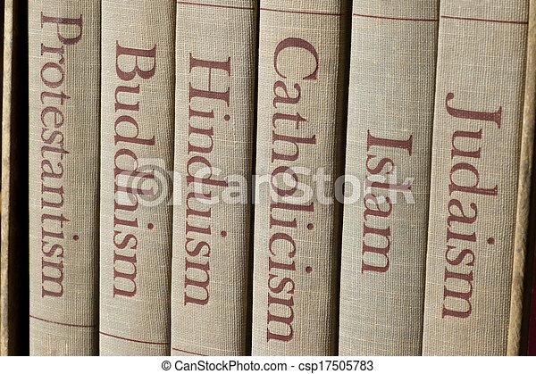 mundo, principal, religiões - csp17505783