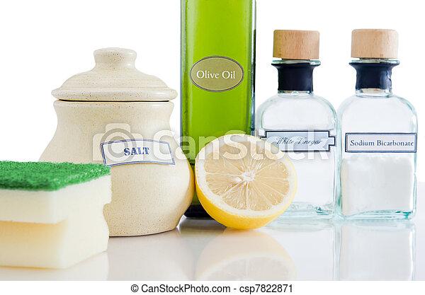natural, produtos, limpeza, non-toxic - csp7822871