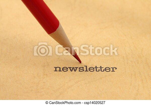newsletter - csp14020527