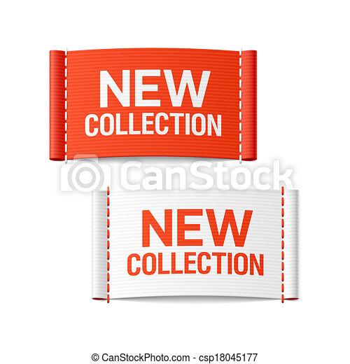 novo, etiquetas, roupa, cobrança - csp18045177