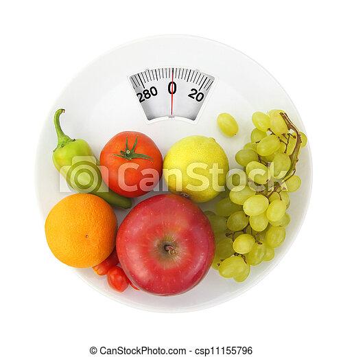 nutrição, dieta - csp11155796