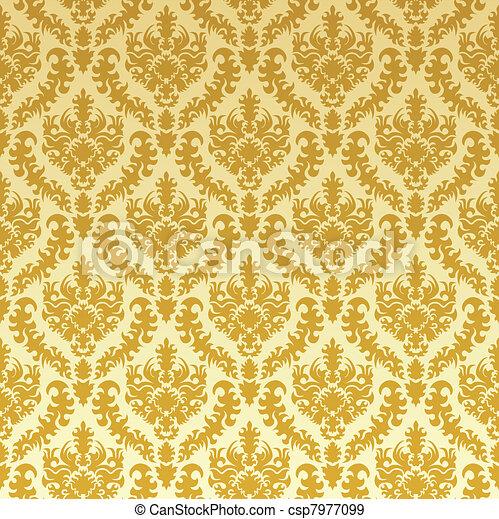 ouro, damasco - csp7977099