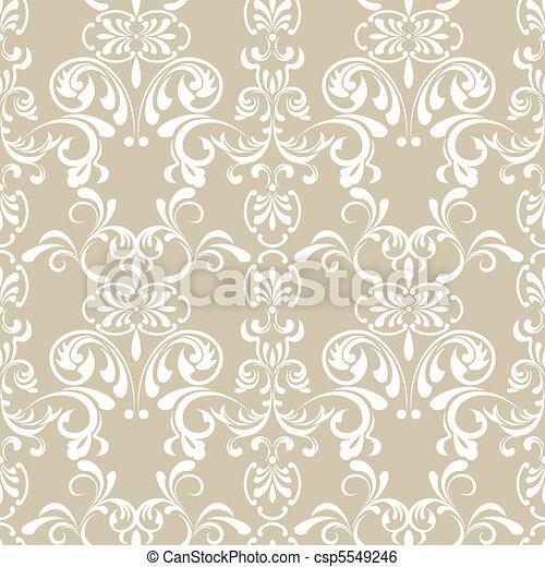 padrão floral, seamless - csp5549246