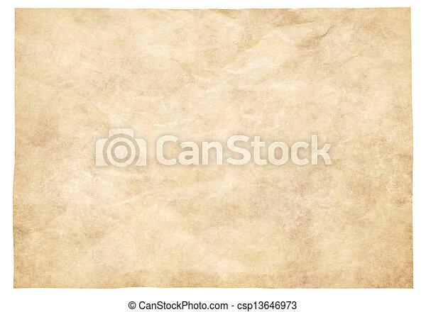 papel, antigas - csp13646973