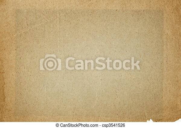 papel, antigas, pergaminho - csp3541526
