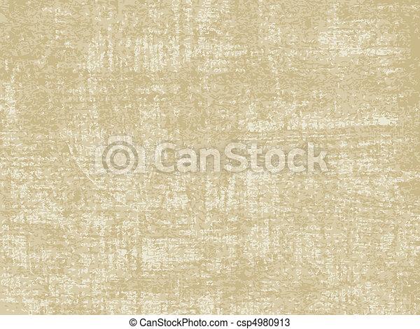 papel, antigas, textura - csp4980913