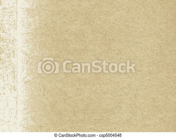 papel, antigas, textura - csp5004548