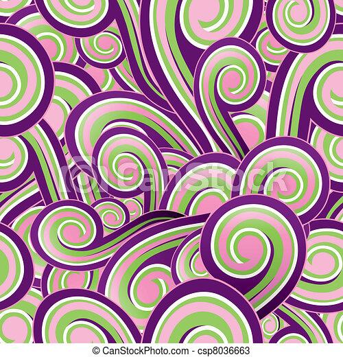 papel parede, seamless - csp8036663