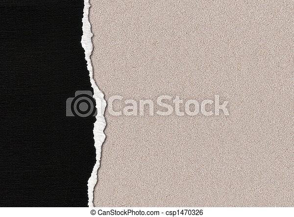 papel rasgado - csp1470326