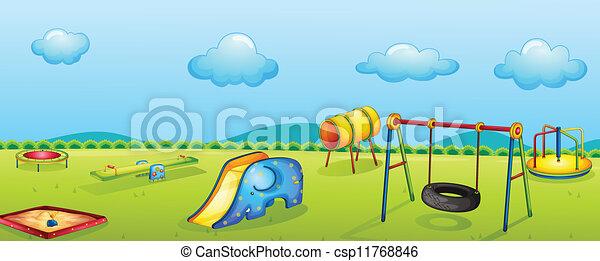 parque jogo - csp11768846