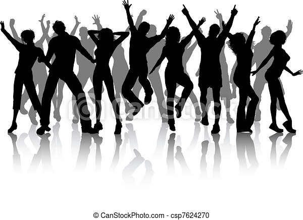 partido, grupo, pessoas - csp7624270