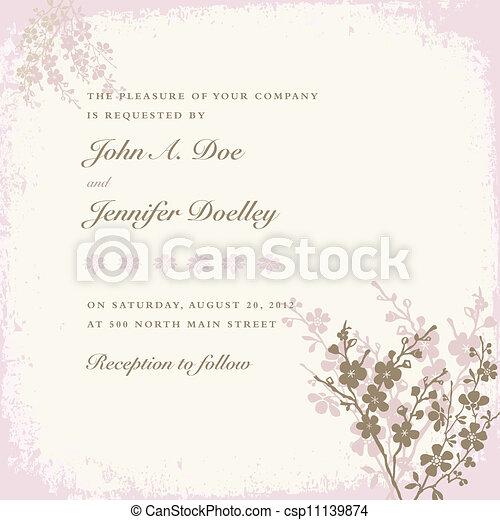 pastel, quadro, vetorial, flor - csp11139874