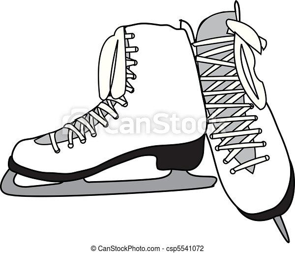 patins figura - csp5541072