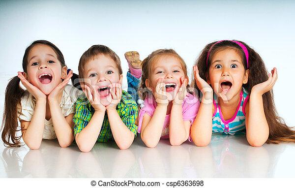 pequeno, crianças - csp6363698