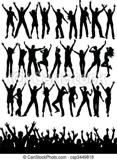pessoas, partido - csp3449818