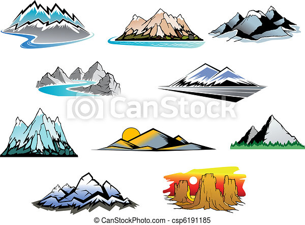 picos montanha - csp6191185