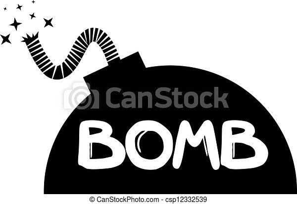 pretas, bomba - csp12332539