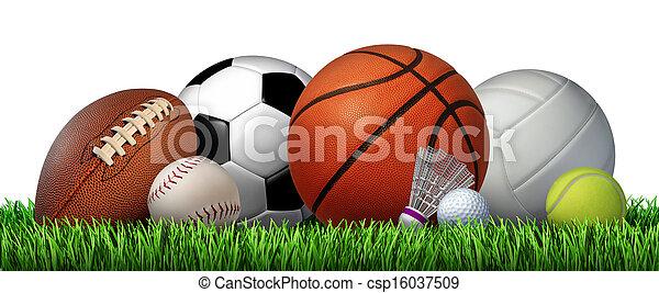 recreação, esportes, lazer - csp16037509