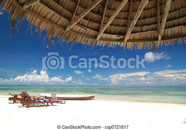 recurso, praia, tropicais - csp0721817