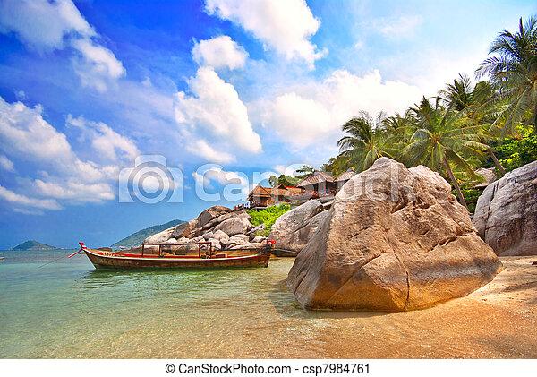 recurso, tailandês - csp7984761