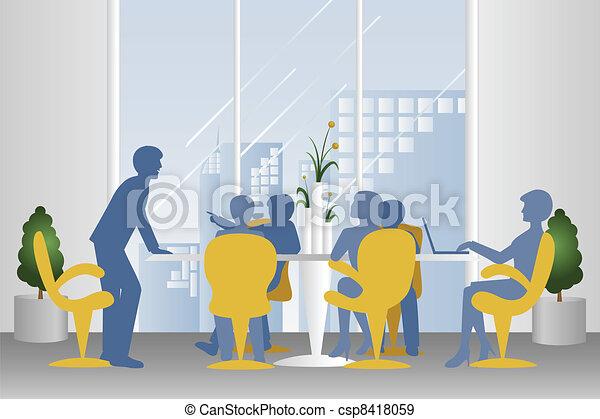 reunião, negócio - csp8418059