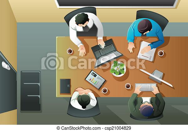 reunião, negócio - csp21004829
