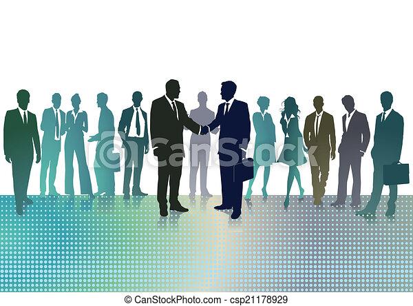 reunião, negócio - csp21178929