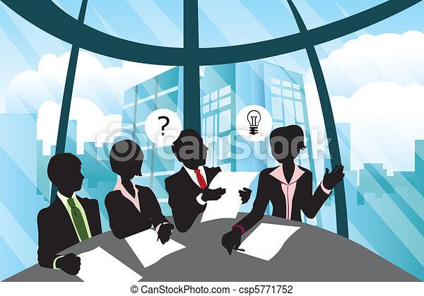 reunião, negócio - csp5771752