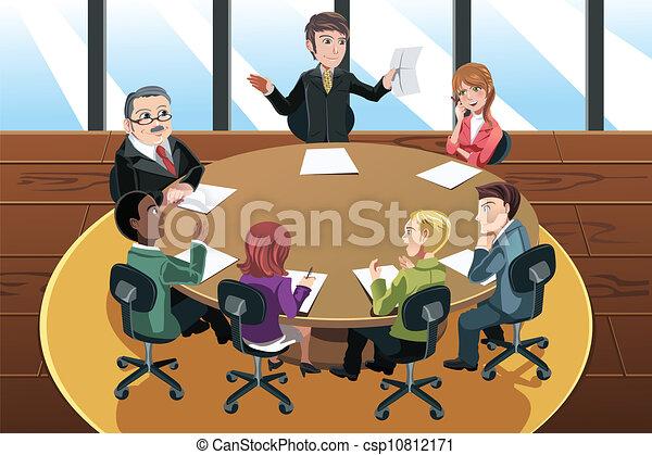 reunião, negócio - csp10812171