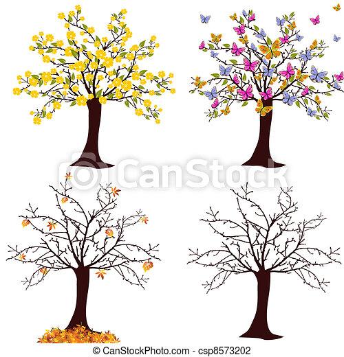 sazonal, árvore - csp8573202