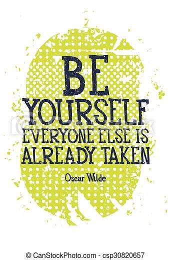 ser, levado, alredy, everyone, você mesmo, else - csp30820657