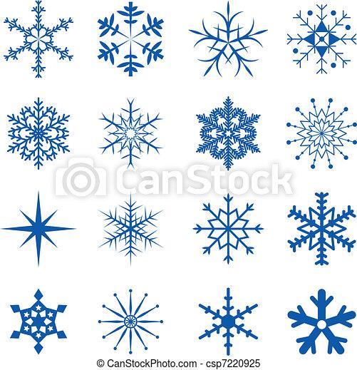 snowflakes, parte - csp7220925