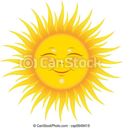 sol sorridente - csp5649419