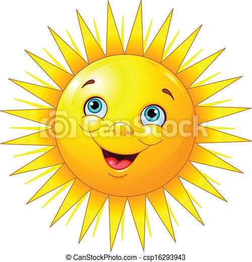 sol sorridente - csp16293943
