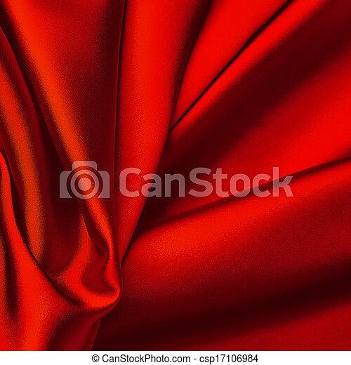 têxtil, experiência., vermelho - csp17106984