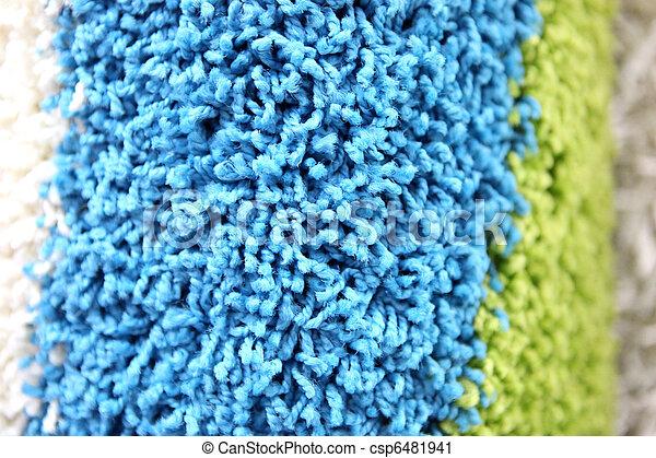 têxtil, fundo - csp6481941