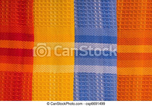 têxtil, fundo - csp6691499