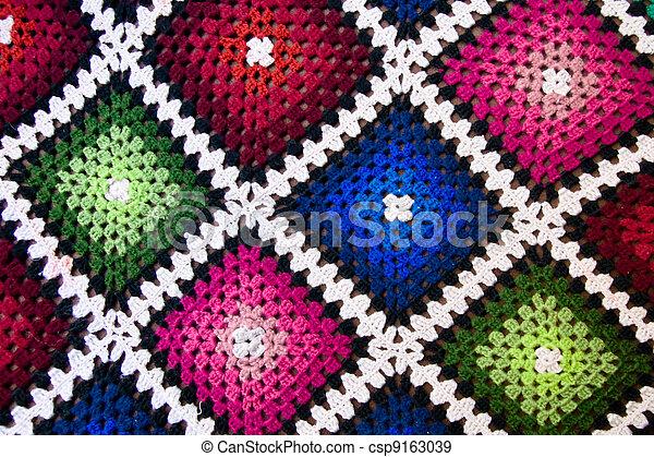têxtil, fundo - csp9163039