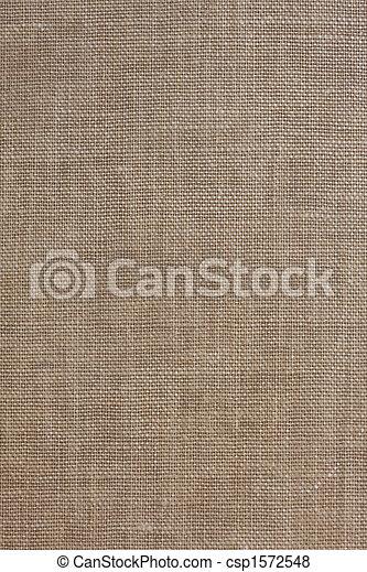 têxtil, marrom, grosseiro, fundo - csp1572548
